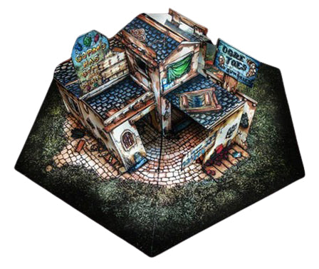 Trinket Shop Pop-Up Terrain, 12 Inch - Digital Download - Printing & Assembly Required