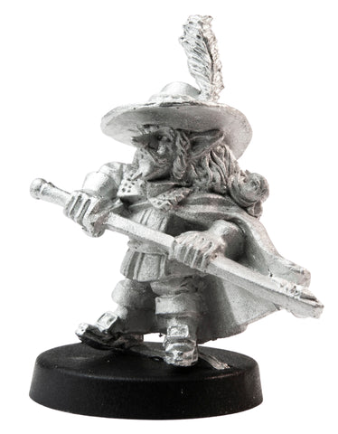 Male Gnome Swashbuckler, 32mm