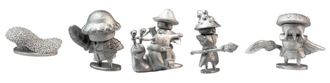 Stonehaven Adventurers 2020 - 5 Piece Mushroom Folk Set B