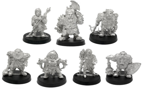 7 Piece Dwarven Adventure Box Set