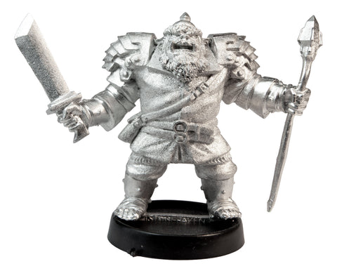 Male Orc Wizard, 40mm