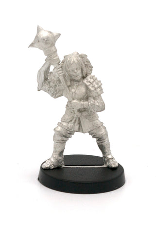Half-Orc Fighter Female, 40mm