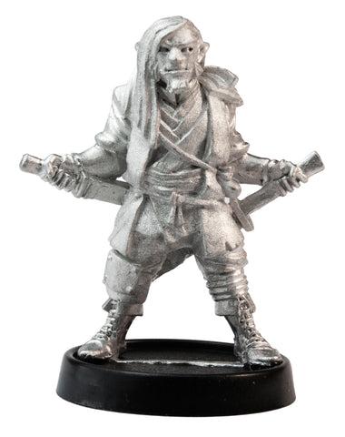 Male Half-Orc Ronin, 38mm
