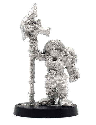 Dwarven Barbarian, 39mm