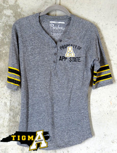 newest a1cf6 79b41 Appalachian State Mountaineers Ladies Throw Back Retro Jersey