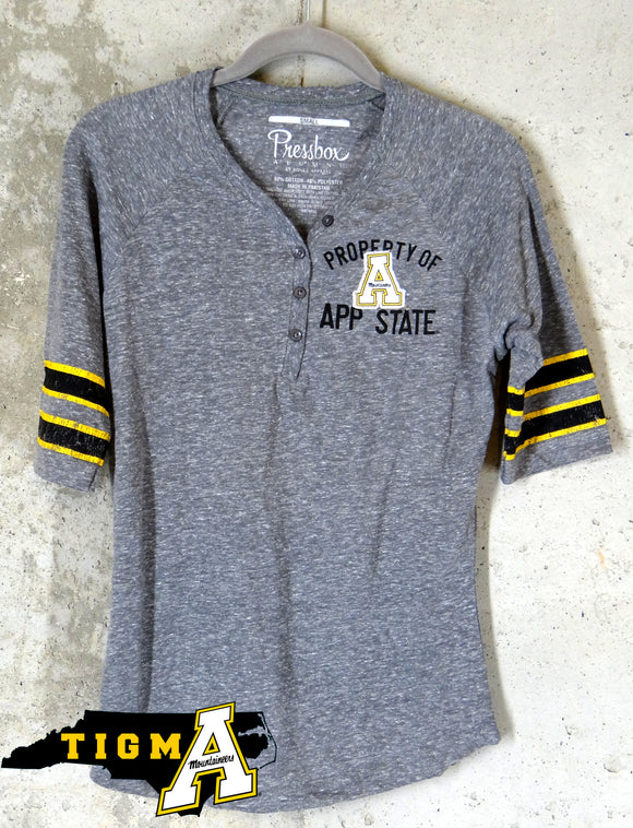 Appalachian State Mountaineers Ladies Throw Back Retro Jersey