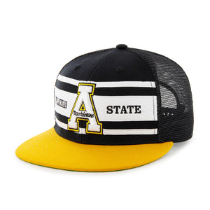 Appalachian State '47 Brand Retro Super Stripe Snap Back Mesh Hat
