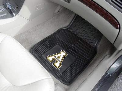 Appalachian State Mountaineers 2-PC Vinyl Car Mat Set