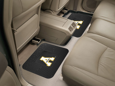 Appalachian State Mountaineers Backseat Utility Mats 2 Pack