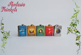A Song of Ice and Fire Series Miniature Book Locket (quote inside) Charm Pendant Necklace or Keyring - Game of Thrones Jewelry