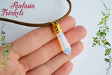 Atlantis Princess Kida Opalite Crystal Pendant Necklace - Fantasy Disney Cosplay Jewelry