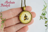 Death is the Road to Awe - Mystical Spiritualism Photo Glass Pendant Necklace - Darren Aronofsky's The Fountain inspired