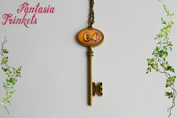 Room 64 - James Patrick March - Hotel Cortez Key Pendant Necklace - American Horror Story inspired