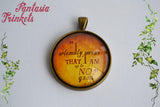 I solemnly swear that I am up to no good - Marauder's Map Quote Photo Glass Pendant Necklace - Harry Potter Jewelry