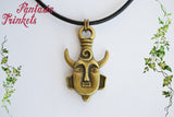 Dean Winchester's Demonic Protection Amulet - Double Sided Bronze Keychain, Choker or Pendant Necklace - Supernatural inspired