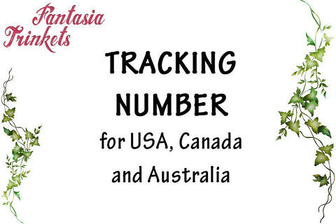 Tracking Number for USA, Canada and Australia (Shipping Upgrade)