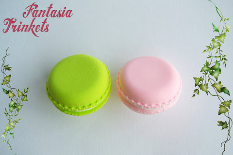 French Macaron Ultra Light Brooch - Miniature Food Jewelry