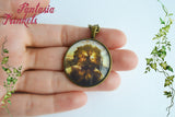 "Darren Aronofsky's ""The Fountain"" Tree of Life Photo Glass Pendant Necklace"