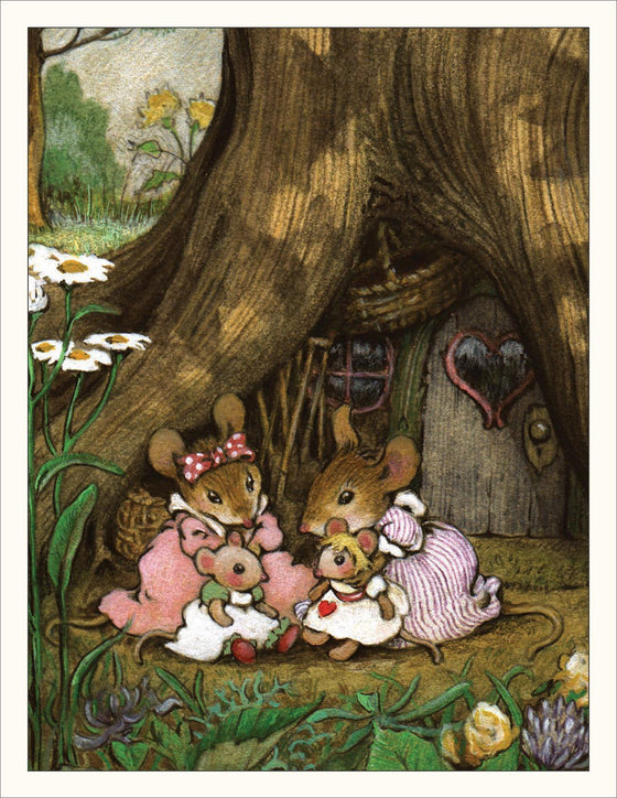 Mice Playing with Dollies