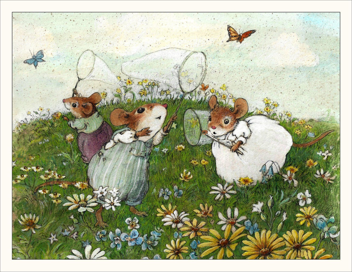 Mice Chasing Butterflies