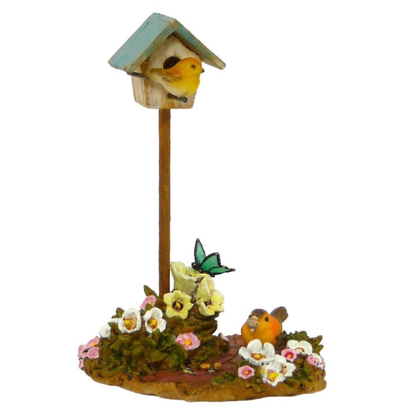 Birdhouse Sculpture