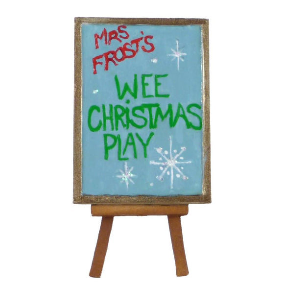 Wee Christmas Play Easel