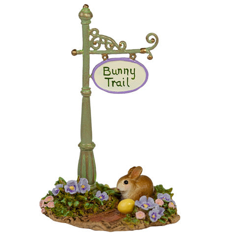 Bunny Trail Sign Post