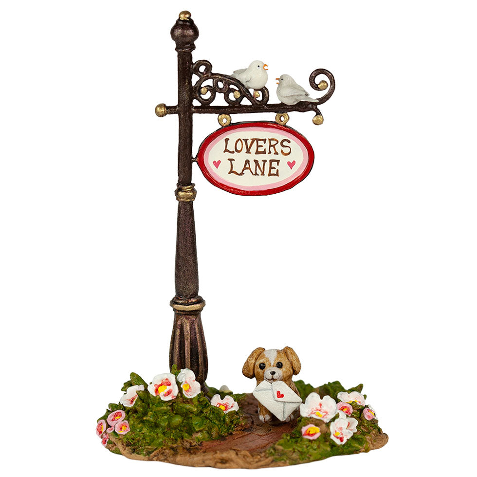 Lover's Lane Sign Post