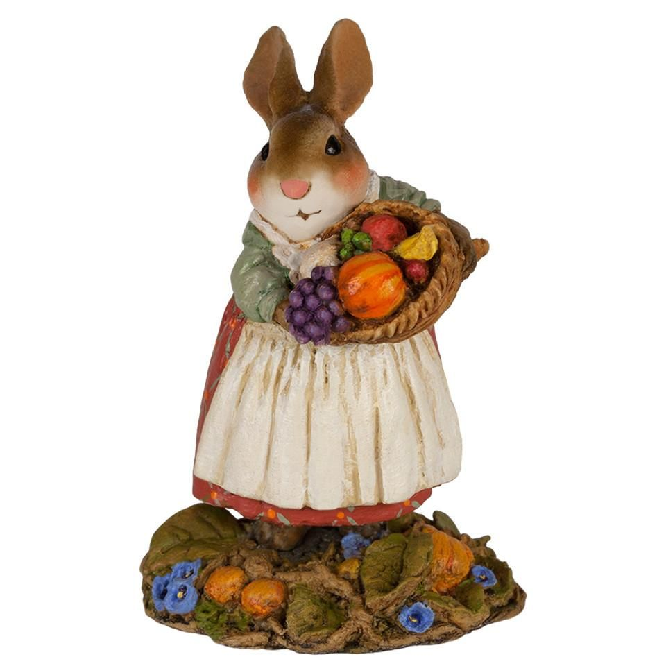 Harvest Bunny with Cornicopia