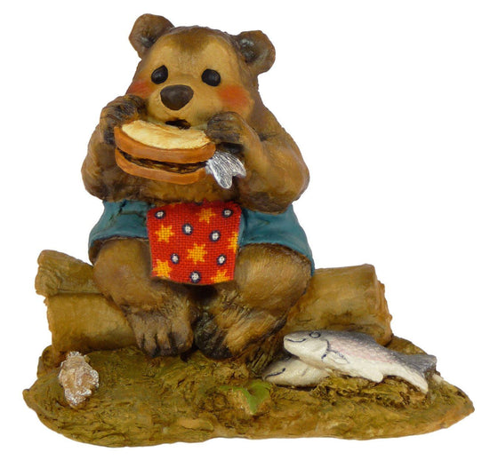 Lunch on a Log