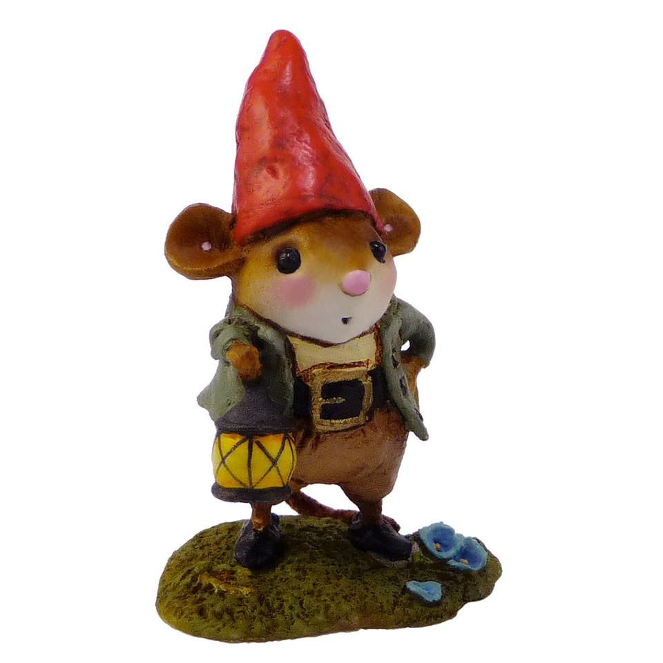 Gnome Mouse with Lantern
