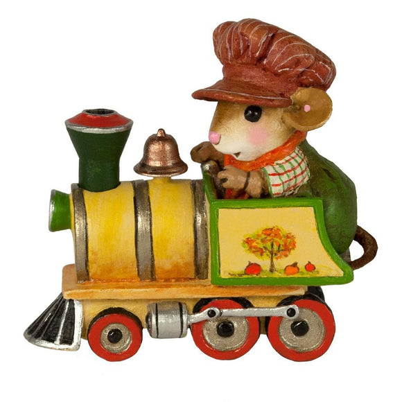 Mouse Fall Train Set Engine