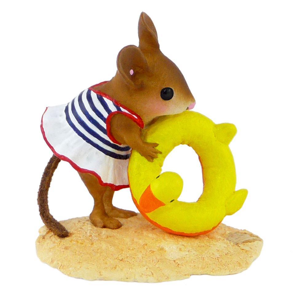 Mouse with Pool Floatie