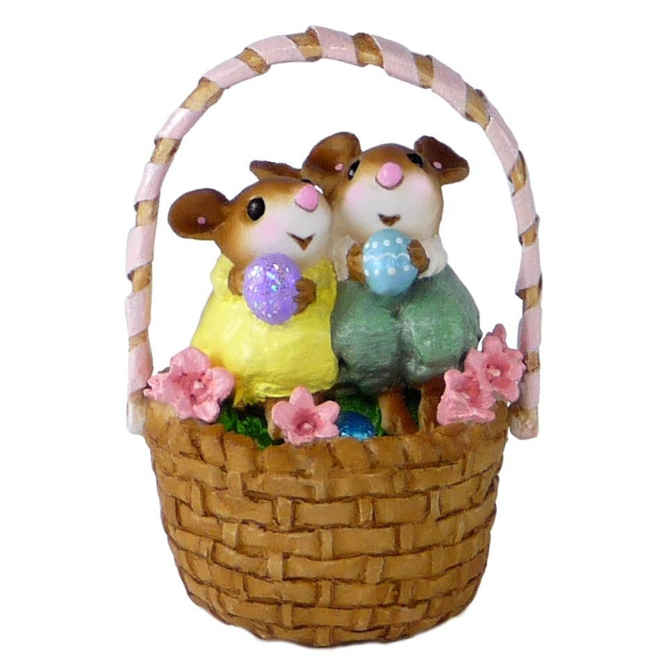 Easter Basket Mice