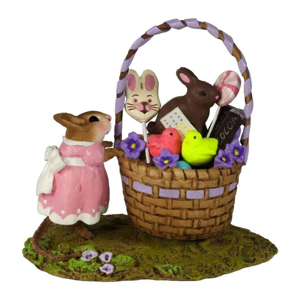 Easter Basket for Mousey