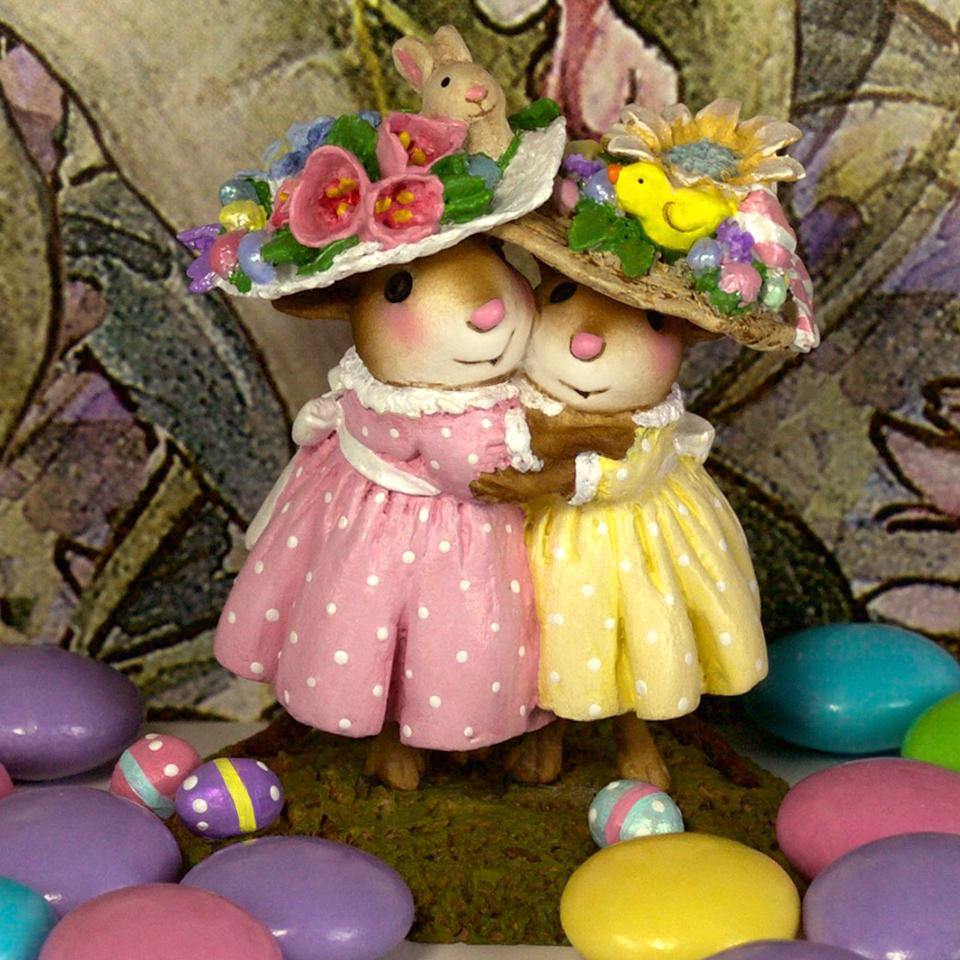 Mousey's Easter Bonnets