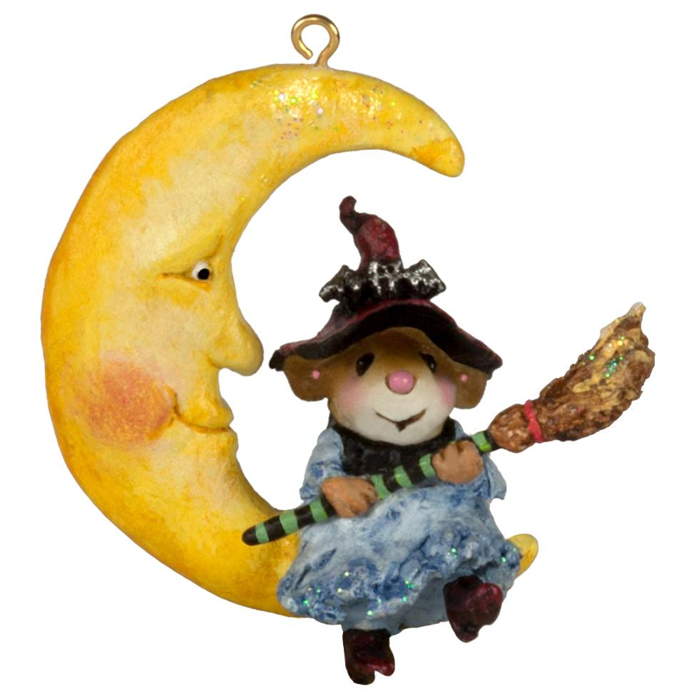 Witch Moon Ornament