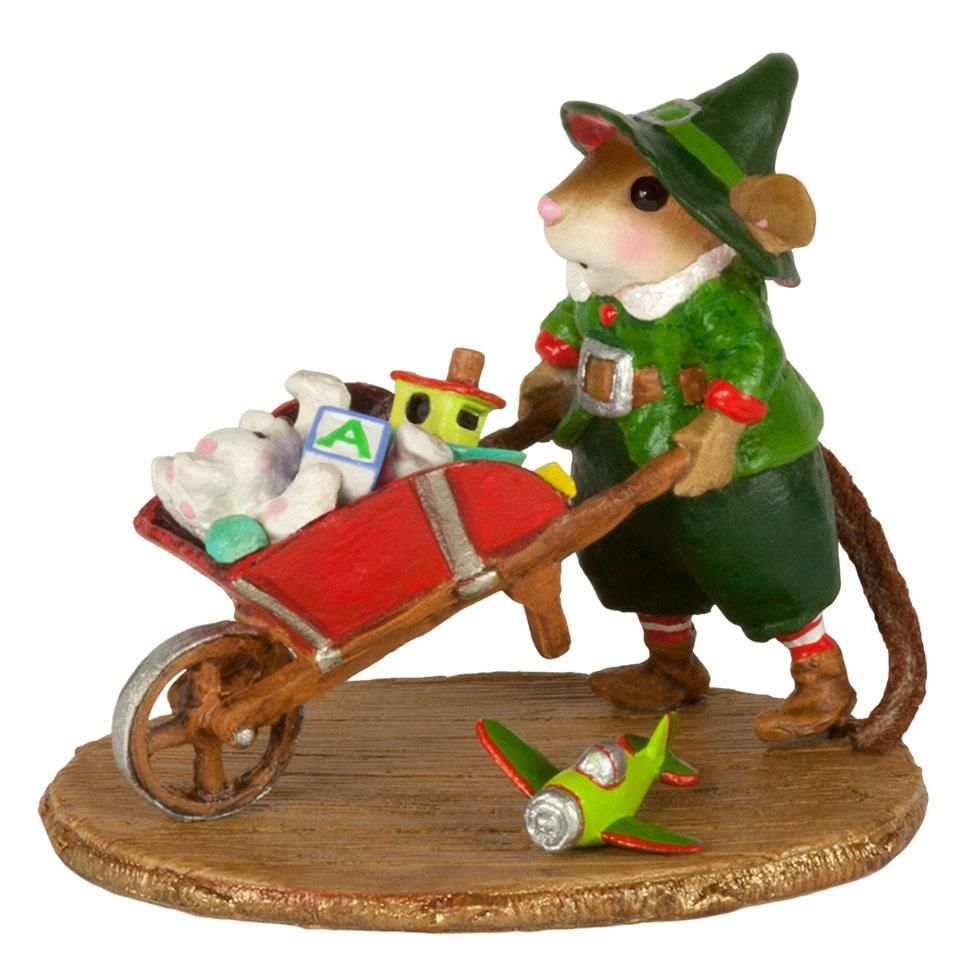 Elf Mouse Wheeling Toys