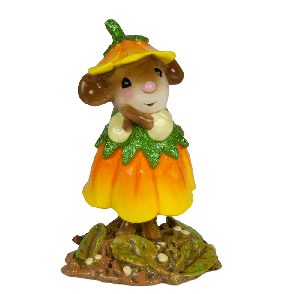 Marigold - October Flower Mouse