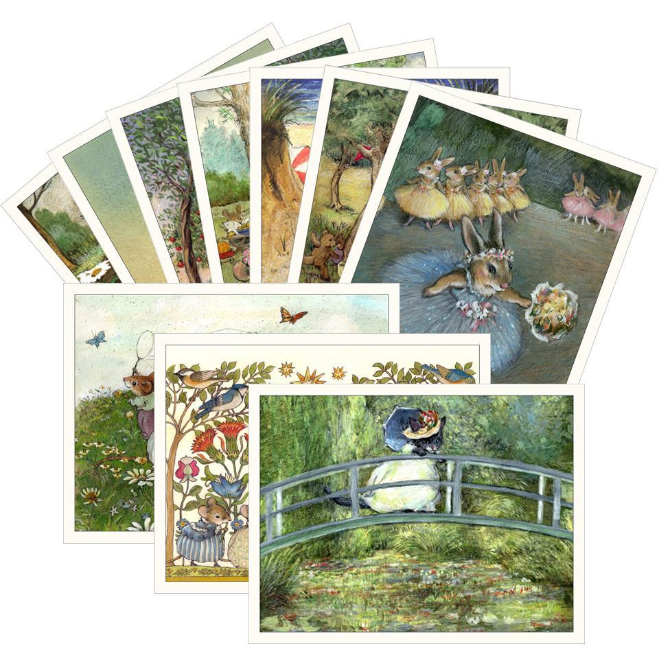 10 Assorted Note Cards