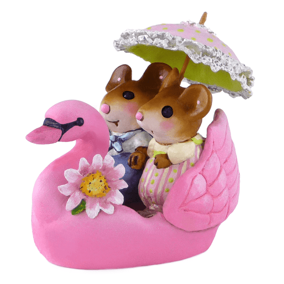 Swanboat Sweethearts - Pink