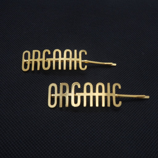 Organic Gold Plated Hairpin