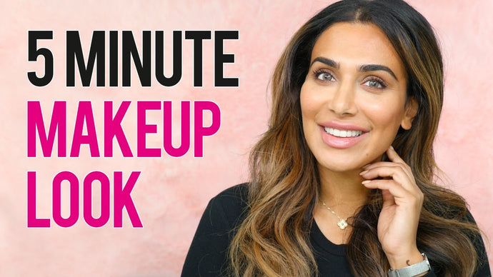 5 Minute Natural Makeup Tutorial by Huda Beauty