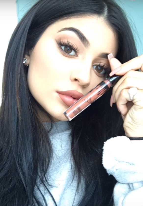Kylie Jenner: How I do my lips tutorial