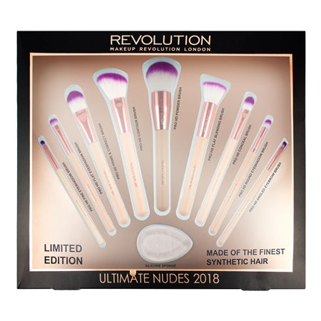 Ultimate Nudes Brush Collection 2018