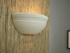 SMS Medium Strand Spill Wall Light in White Plaster Finish