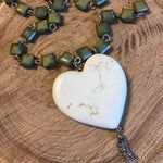 Turquoise Heart III Necklace