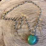 Turquoise Heart VI Necklace