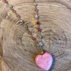 Turquoise Heart VII Necklace