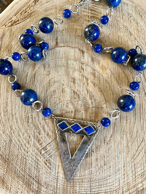 Love Me Some Lapis Necklace